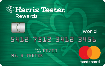 Harris Teeter Rewards credit card